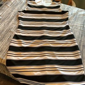 Calvin Klein Women's Striped Sheath Dress/Size 12